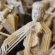 Toothpick orchestra that took 3 years in the making