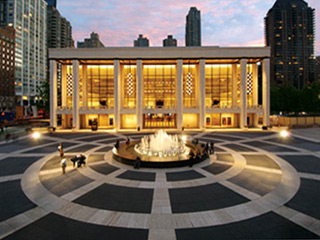 New York Lincoln Center outside