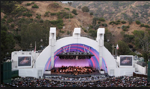 Hollywood Bowl in LA