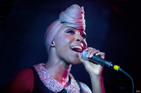 Laura Mvula performing live at Hare & Hounds in Birmingham
