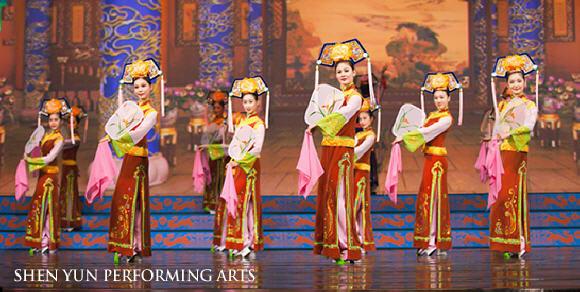 Chinese_Manchu_Dance_Performance